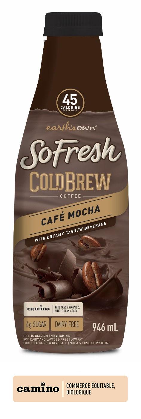 SoFresh Cold Brew – Café Moka 946ml